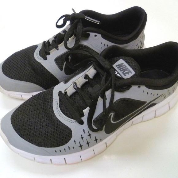 newest 8f153 b48b9 Nike Kids Free Run 3 Youth Size 5.5Y Black Gray